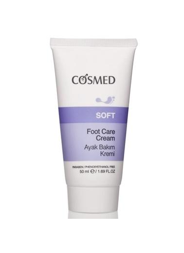 Cosmed COSMED Soft Nourishing & Moisturizing Foot Cream 50 ml - Ayak Kremi Renksiz